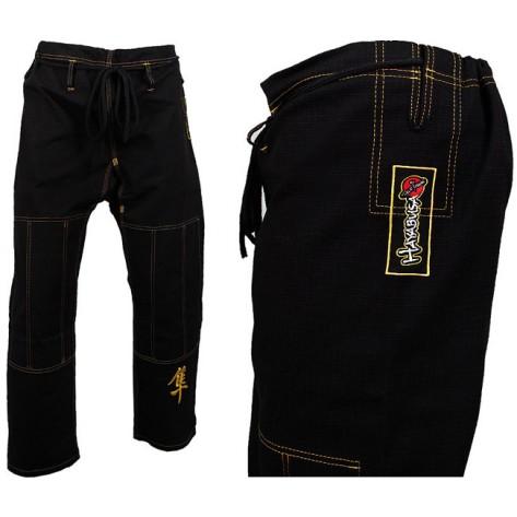 Pantalone Hayabusa Kanji Pro JiuJitsu Gi Black