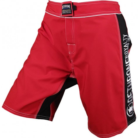 Dethrone Anticrown Fight Shorts Red/Black
