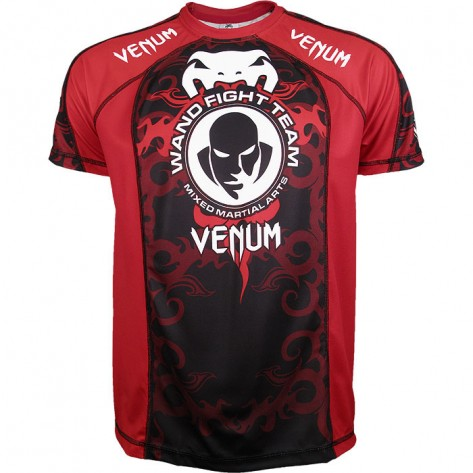 "Venum Wanderlei silva Dry Fit ""Walkout UFC 147"" - black/red"