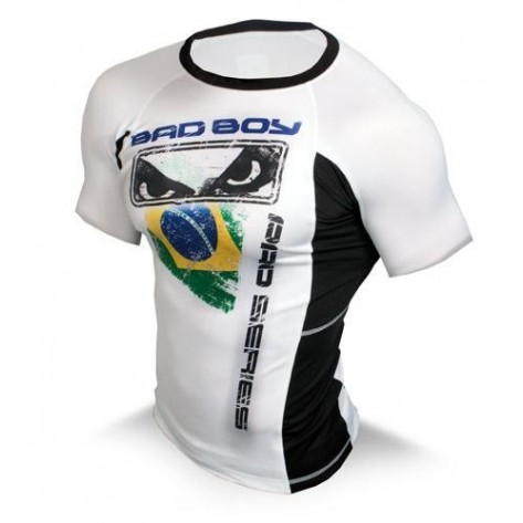 Bad Boy Brazil Rash Guard - Maniche corte