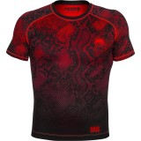 Venum Fusion Compression T-Shirt Black/Red