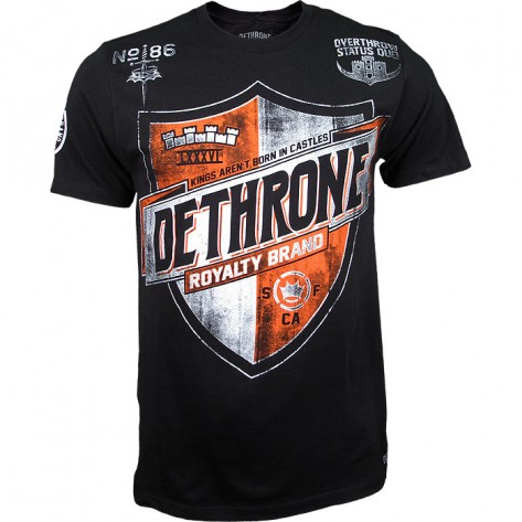 Dethrone Team Shield Black