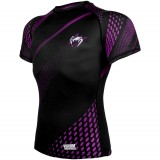 Venum Rapid Rashguard Black Purple