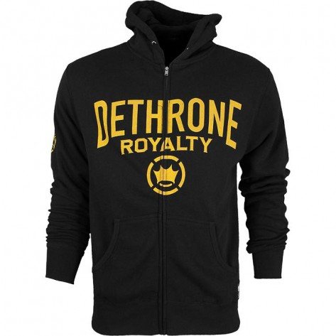Dethrone Anticrown Hoodie Black