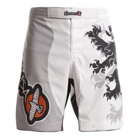 Hayabusa Overeem Signature Fight Shorts White