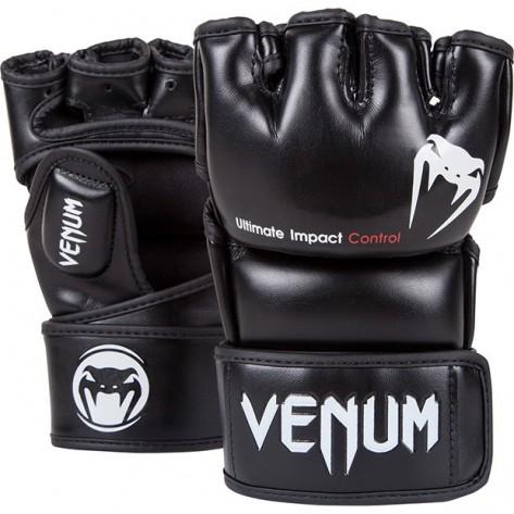 Venum Impact Black Gloves