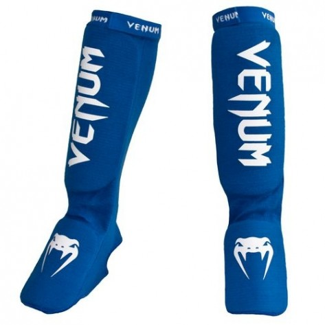 Venum shin-foot guards KONTACT Blu