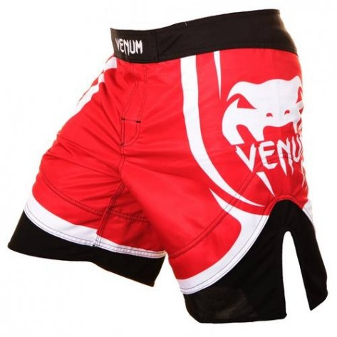 Venum Fightshorts Electron 2.0 Red & White