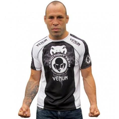 "Venum Wanderlei silva Dry Fit ""Walkout UFC 147"" - black/white"