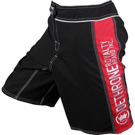 Dethrone Anticrown Fight Shorts Black/Red