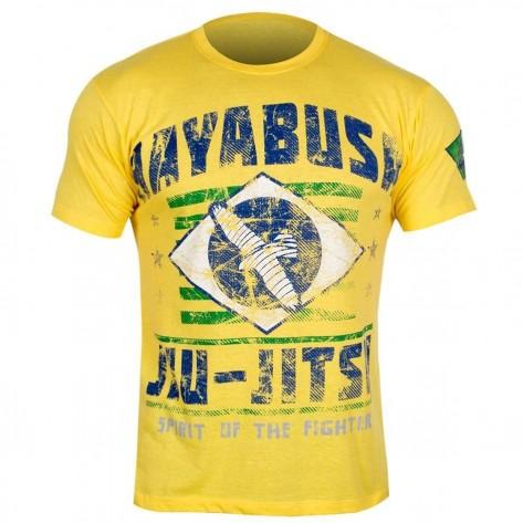 Hayabusa Jiu Jitsu OSS T-Shirt - Yellow