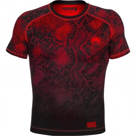 Venum Fusion Compression T-Shirt Black/Red