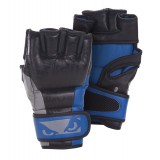 Bad Boy Legacy MMA Gloves - Blue/Grey/Black