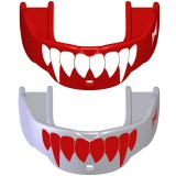 2 Paradenti Tapout Fang Rosso/Bianco per BAMBINI