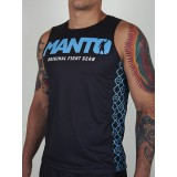 Manto Tank Top Victory Black/Blue