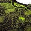Venum Fusion Compression T-Shirt Black/Yellow Long