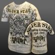 Silver Star Anderson Silva walk-in  UFC97 Bianco