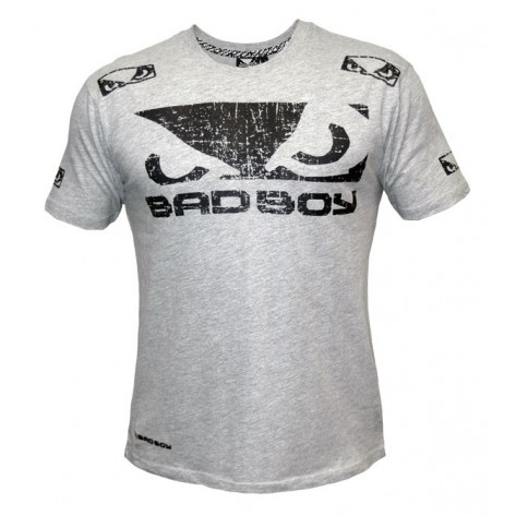 Bad Boy Walk In Tee Grey