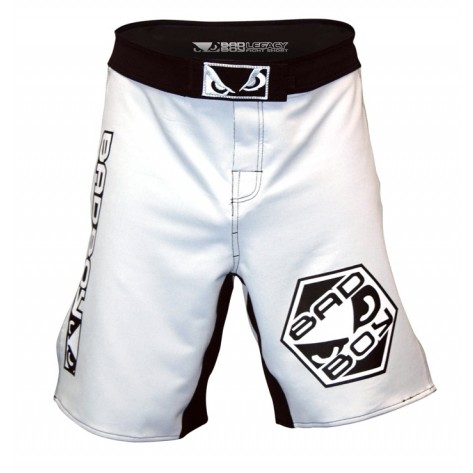Bad Boy Legacy Fightshort White