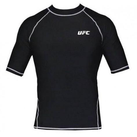 UFC Strike Rashguard Black SS
