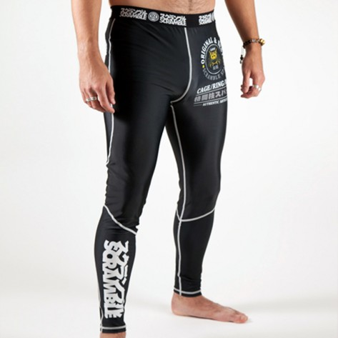 Scramble Grappling Spats v2.0 Black