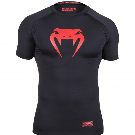 Venum Contender Compression  tshirt Red Devil
